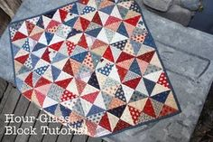 I wanna make a red white & blue quilt!