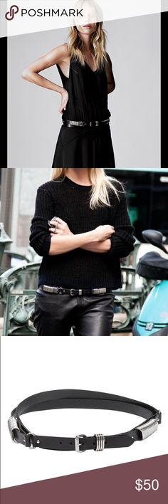 ELIN KLING x MARCIANO Double Wrap Belt Before she had Totême, she did a collab with Marciano... here is a belt from that collection! Size S. Leather. Marciano Accessories Belts