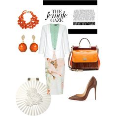 Untitled #53 by mchiviredzuwah on Polyvore featuring polyvore, fashion, style, Just Cavalli, Quiz, Christian Louboutin, Dolce&Gabbana, Kenneth Jay Lane and Amrita Singh