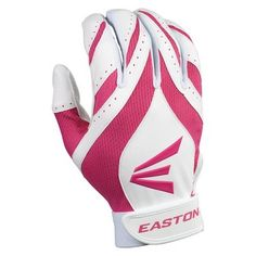 These Easton Synergy II Women's Softball Fastpitch Batting Gloves can be purchased for $14.99 at http://www.harpersportshop.com/easton-synergy-ii-womens-softball-fastpitch-batting-gloves/pageadffffmgopll/product.  Nice alternative to pink and black gloves.