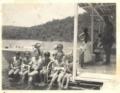 Memories at my grandparents cabin in the 1960's #gravoismills #lakeoftheozarks