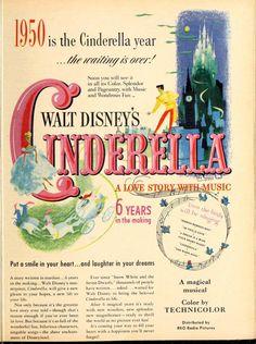 Cinderella ad (Modern Screen; 1950-03)