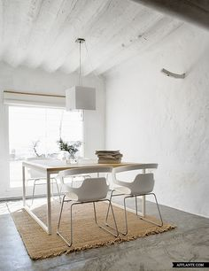 La Mancha, Spain; concrete vs rug