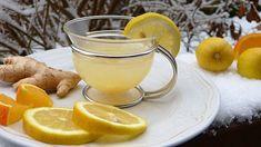 Hälsoshot med ingefära och gurkmeja