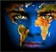 world face paint