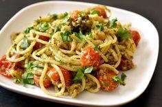 Garnélás-pestós spagetti 1db