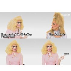 Trixie Mattel and Katya Zamolodchikova Brian Firkus, Katya Zamolodchikova, Trixie And Katya, Trailer Park Boys, Adore Delano, Queen Makeup, Look Girl, Rupaul Drag, Drag Queens