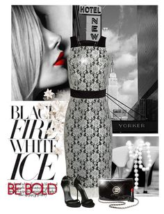 """""""Black Fire"""" by sherry7411 ❤ liked on Polyvore featuring Edition, Kate Fearnley, Gucci, Chanel and NARS Cosmetics"""
