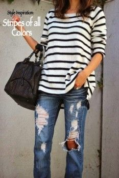 Style Inspiration: Stripes of All Colors