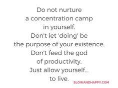 Slow and Happy blog: The hell of self-development  #motivation #work #blog #productivity #slowlife #slowandhappy #doless