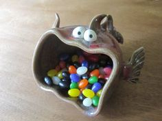 Inspiration for a functional art project: Clay Monster http://www.claymonster.net mailto:cataudette@claymonster.net