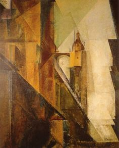 Lyonel Feininger  Church of St Mary 1 1929