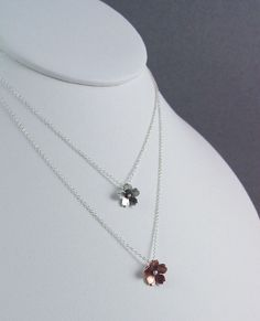Cherry Blossom Drop Bridesmaid Gifts Simple jewelry by HapaGirls, $32.00