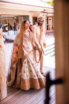 Sabyasachi 2019 Destination Wedding Lehengas & Other Outfits - Muslim Wedding Dresses, Wedding Attire, Bridal Dresses, Wedding Gowns, Indian Bridal Outfits, Indian Bridal Wear, Indian Wear, Indian Attire, Indiana