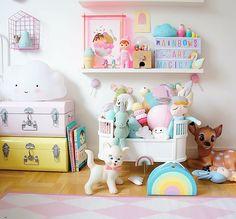 #pastel #girlsroom #kidsinterior #kidsroom #barnerum #kidsdesignlife #kidsboetiek