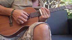 12 bar blues slide ukulele baryton