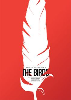 Alfred Hitchcock Film Poster- I still shiver when I see a bunch of blackbirds together-lol!