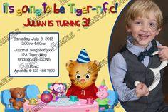 Daniel Tiger's Neighborhood invitation