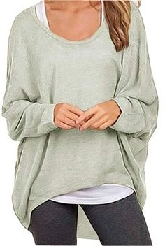 ISSHE Sweatshirt Damen Oversize Langarm Rollkragen Pullover