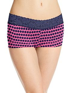 ceda9a04755 Maidenform Women s Dream Cotton with Lace Boy Short at Amazon Women s  Clothing store  Lace Boy ShortsCottonLingerie UnderwearBikinisClothesSexy  ...