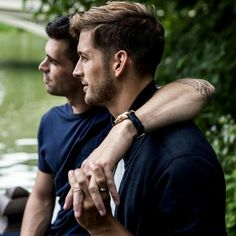 Max emerson and his boyfriend andres camilo for 'tiffany & c Cute Gay Couples, Couples In Love, Same Love, Man In Love, Gay Lindo, Max Emerson, Partner, Hugs, Love Story