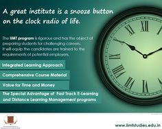 IIMT Studies proposes various courses in management and engineering for working professionals in the form of diploma, graduation and post-graduation courses. They have successfully delivered the quality amalgamating with quantity to a huge number of people in more than 30 cities and approximately 16 countries so far and leading on their way to enrich more minds every day.
