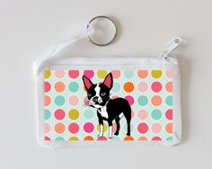 Boston Terrier Coin Purse by senorpicklesworth on Etsy, $5.30