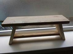 Vensterbank krukje van steigerhout