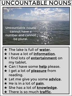 AskPaulEnglish: UNCOUNTABLES