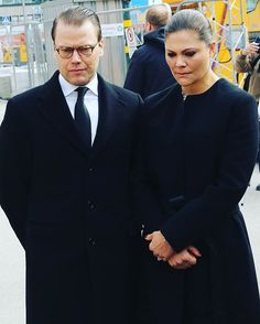victoriadanielestelleoscar Victoria and Daniel have paid tribute to the victims in central Stockholm earlier today