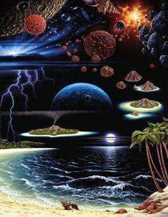 Na Borda do Espaço - Jacek Yerka e seu surrealismo fantástico ~ Polonês