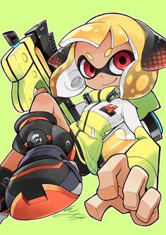 Nintendo Splatoon, Splatoon 2 Art, Pokemon Room, Gamers Anime, Fanart, Video Game Art, Digimon, Funny Moments, Drawing Reference