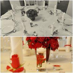 Wszystkie nasze sale weselne, są miejscami urzekającymi i wyjątkowymi pod każdym względem. Stoły i krzesła są udekorowane w efektowny sposób, a profesjonalne oświetlenie stwarza atmosferę idealną do świętowania w gronie rodziny i przyjaciół. :) #wedding #decoration