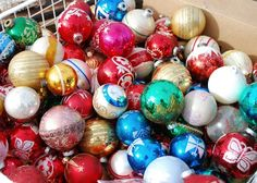 i want a basket full ornaments like this