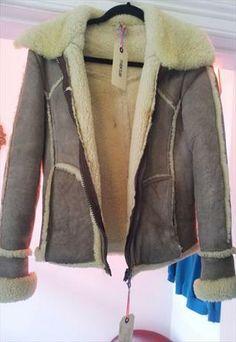 lovely suede flying jacket £25 Winter Months, Leather Jackets, Asos, Jackets For Women, Fancy, Coats, Denim, Vintage, Leather Jacket