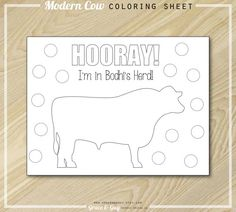 Hey, I found this really awesome Etsy listing at https://www.etsy.com/listing/177308514/cow-party-coloring-page-farm-birthday