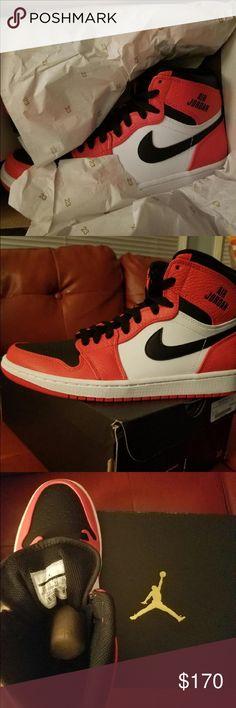 Air Jordan's retro high top men's size 8.5 Authentic height top retro air Jordan 1. Brand new Jordan Shoes Athletic Shoes