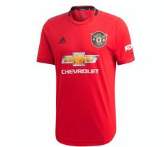 Adidas Manchester United Home Youth Jersey 2019/20 - Red - RED / EXTRA LARGE