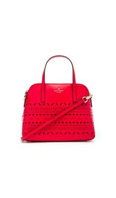 kate spade new york Maise Bag in Cherry Liqueur | REVOLVE