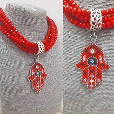 Miyuki # necklace # necklace # jewelery # taki # accessory # Etsy # handmade # handmade # red # red # instafashio's # miyukideli by # bead # beads # fashion # trend # fashion # designer # crystal # instalik to # in instamo # istanbul Beaded Jewelry Patterns, Beading Patterns, Stylish Jewelry, Fashion Jewelry, Handmade Accessories, Handmade Jewelry, Miyuki Beads, Bead Loom Bracelets, Peyote Beading