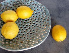 Tazón de fuente de fruta grande-cerámica y alfarería