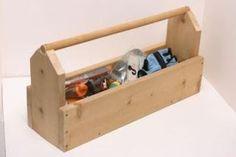 Ah! E se falando em madeira...: FW caixa de ferramentas