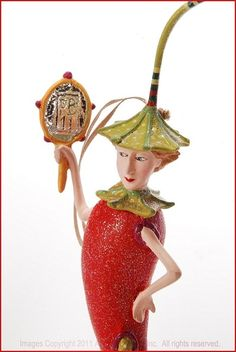 Patience Brewster Krinkles - Lilly Chili Pepper Ornament