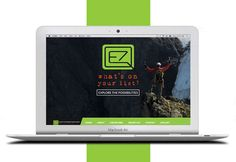 Animated video homepage for http://qe7.ca. Click this pin to get your own website