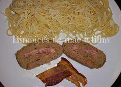 Ingredientes:   500 gr. carme picada            1 ovo  1 cebola  4 dentes de alho  1 caldo de carne  8 colheres de sopa de...
