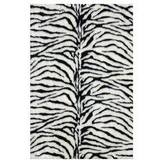 #Safari Destination Decor Inspiration// zebra rug