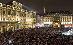 Lyon, France #JeSuisCharlie