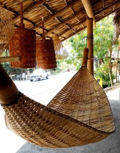 bamboo hammock by HamacArt on Etsy