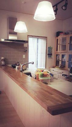 Kitchen.  단독주택 주방.