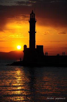 lighthouse in chania by christos papazanis on 500px